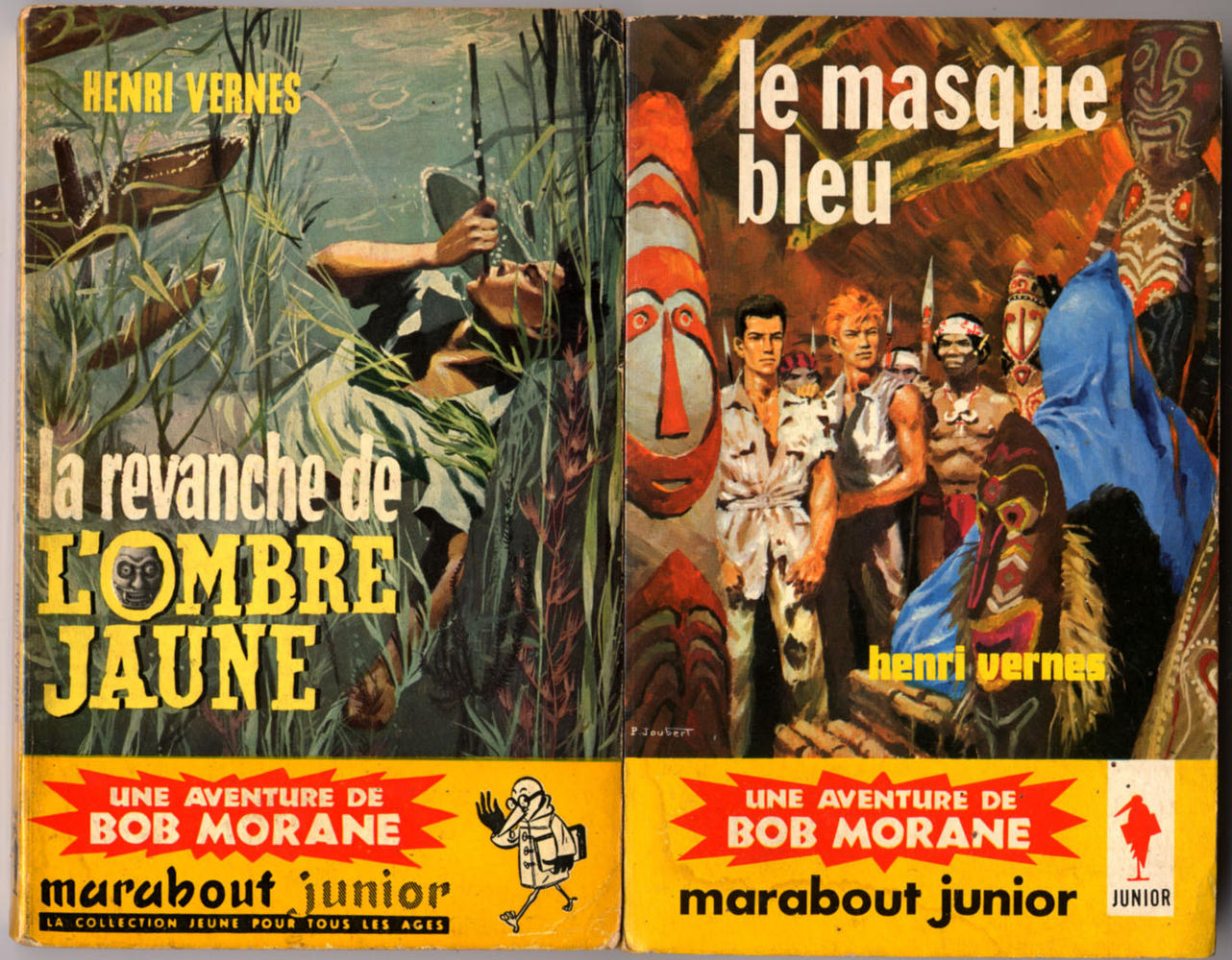 Henri Vernes - Bob morane : Les 70 premières aventures
