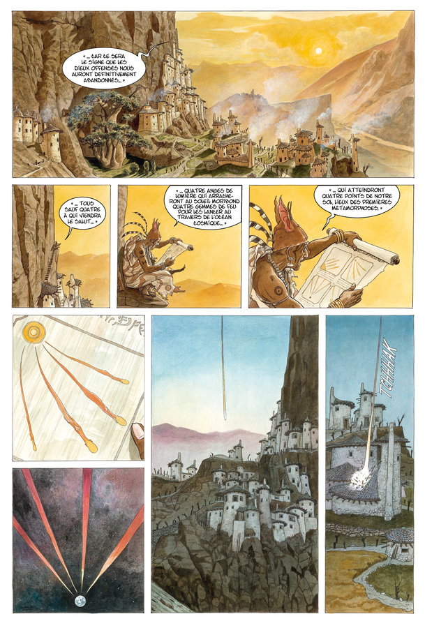 Extrait 0 : Les Epées de verre T3 : Tigran
