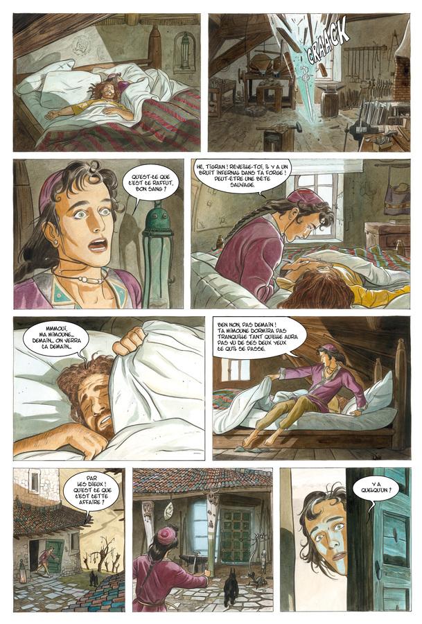 Extrait 1 : Les Epées de verre T3 : Tigran