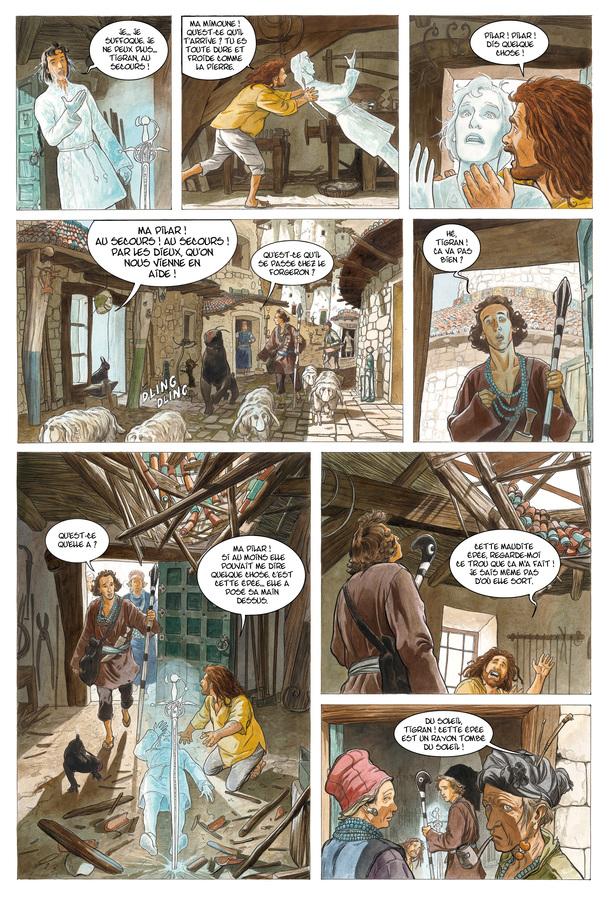 Extrait 3 : Les Epées de verre T3 : Tigran