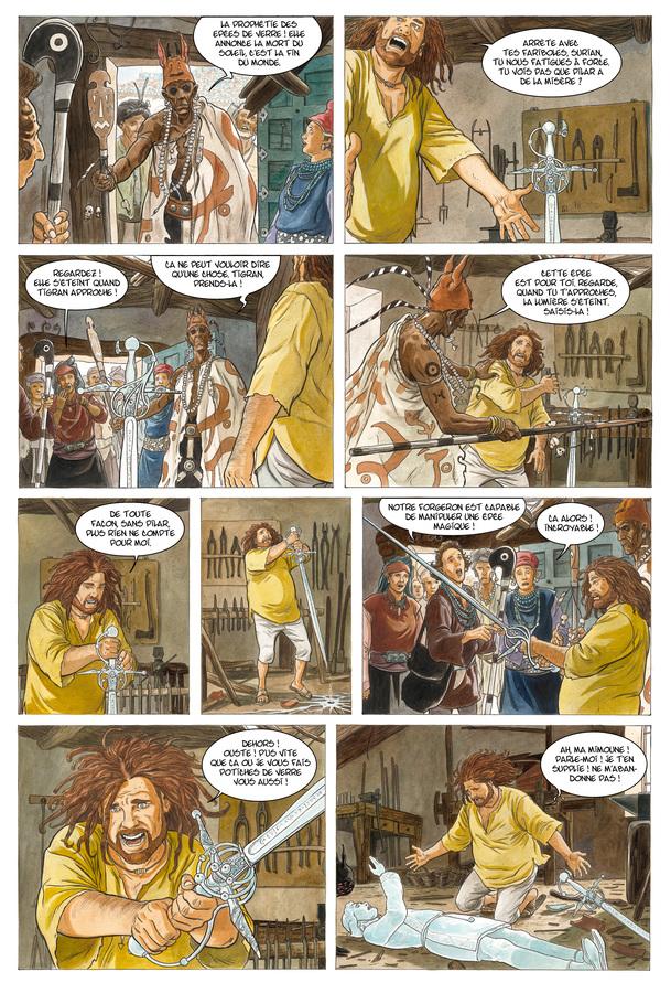Extrait 4 : Les Epées de verre T3 : Tigran