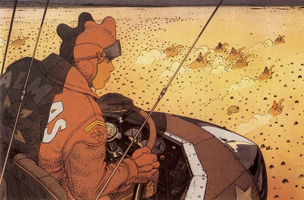 Extrait 0 : Mœbius Œuvres : Chaos