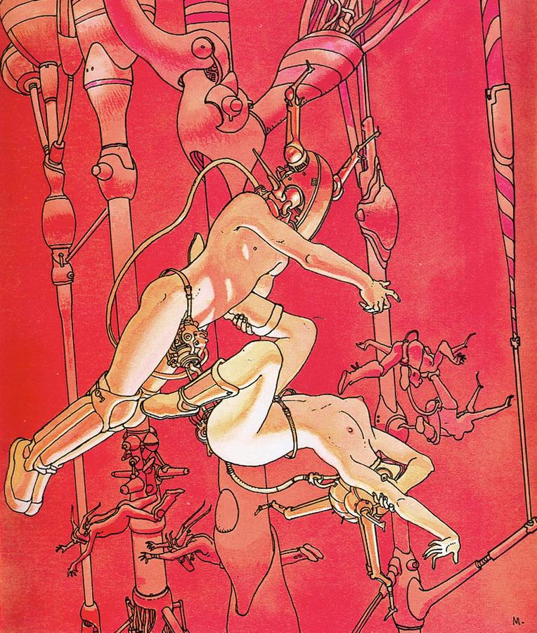 Extrait 1 : Mœbius Œuvres : Chroniques métalliques
