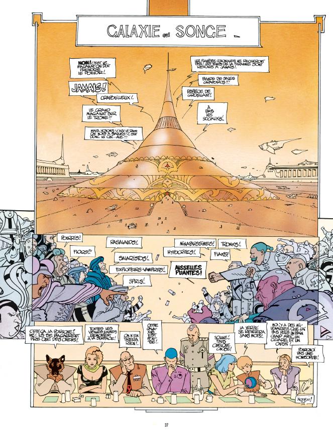 Extrait 2 : L'Incal T5 : La Cinquième Essence 1 : Galaxie qui songe