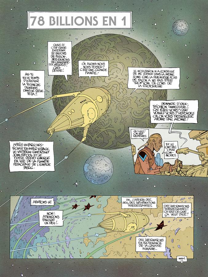 Extrait 0 : L'Incal T6 : La Cinquième Essence 2 : La Planète Difool
