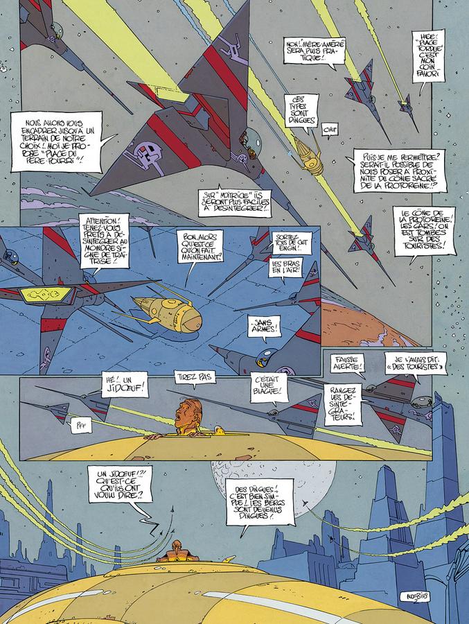 Extrait 1 : L'Incal T6 : La Cinquième Essence 2 : La Planète Difool
