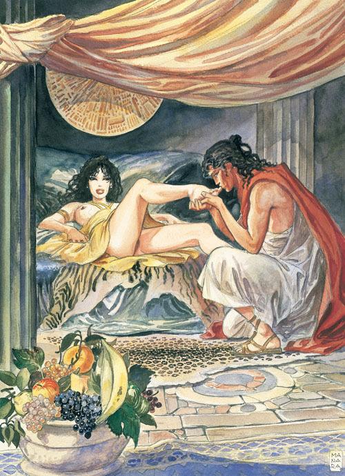 Extrait 1 : Aphrodite T1 : Livre premier
