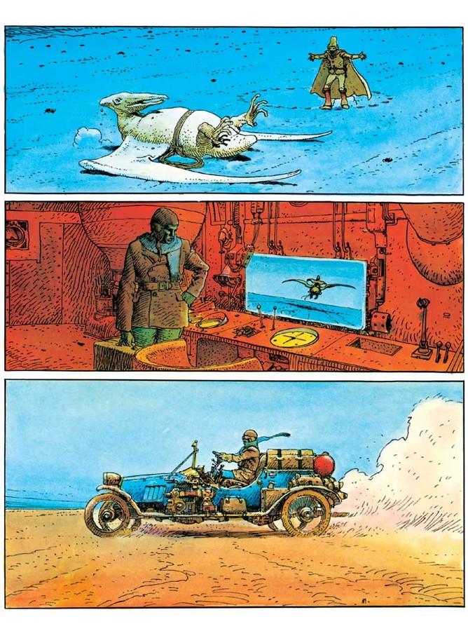 Extrait 0 : Mœbius Œuvres : Arzach