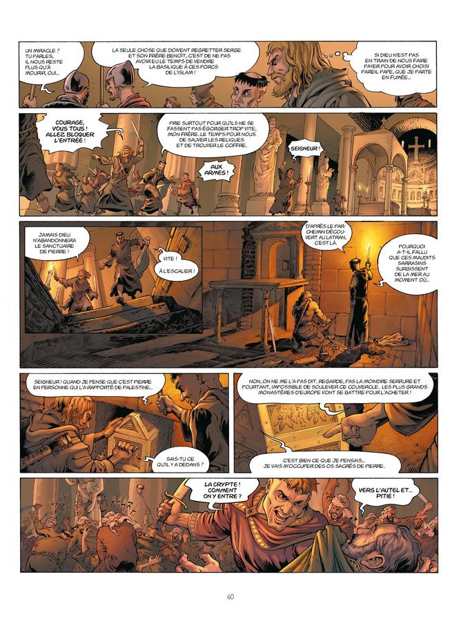 Extrait 1 : Millénaire T2 : Le Squelette des anges