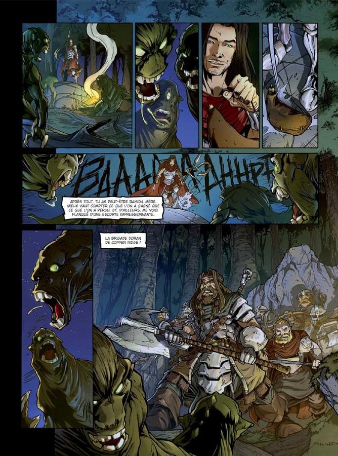 Extrait 1 : Dragonseed T2 : L'Étreinte du Griffon