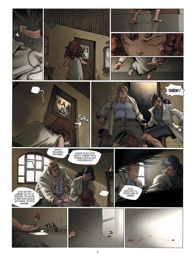 Extrait 2 : Le Manoir des murmures T1 : Sarah