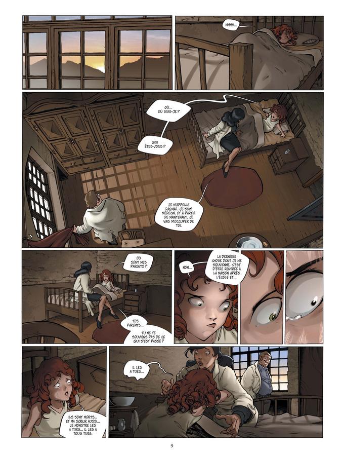Extrait 3 : Le Manoir des murmures T1 : Sarah