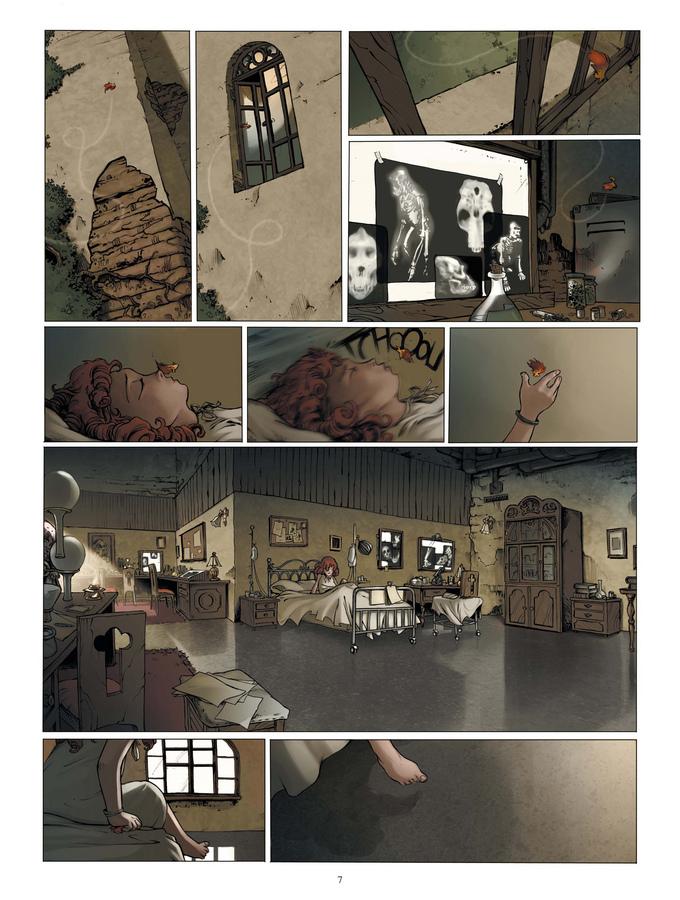 Extrait 1 : Le Manoir des murmures T1 : Sarah