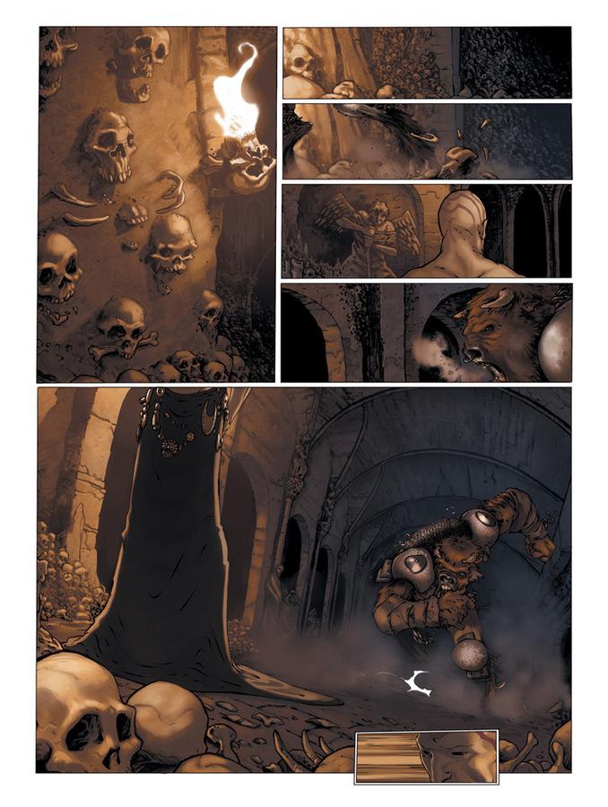 Extrait 1 : Le Manoir des murmures T2 : Demian