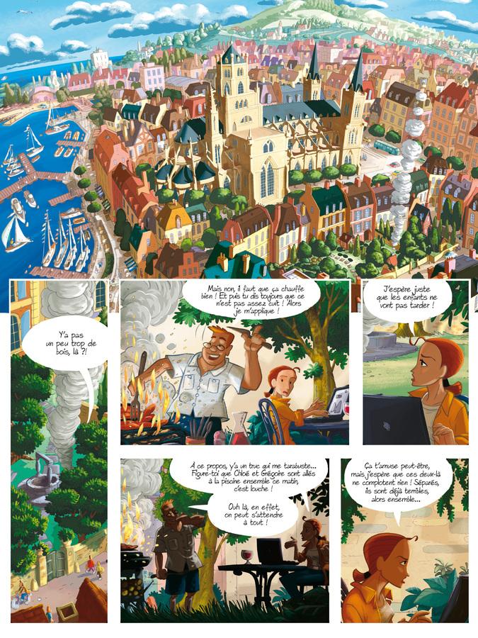 Extrait 0 : Gargouilles T6 : Le Livre des Mages