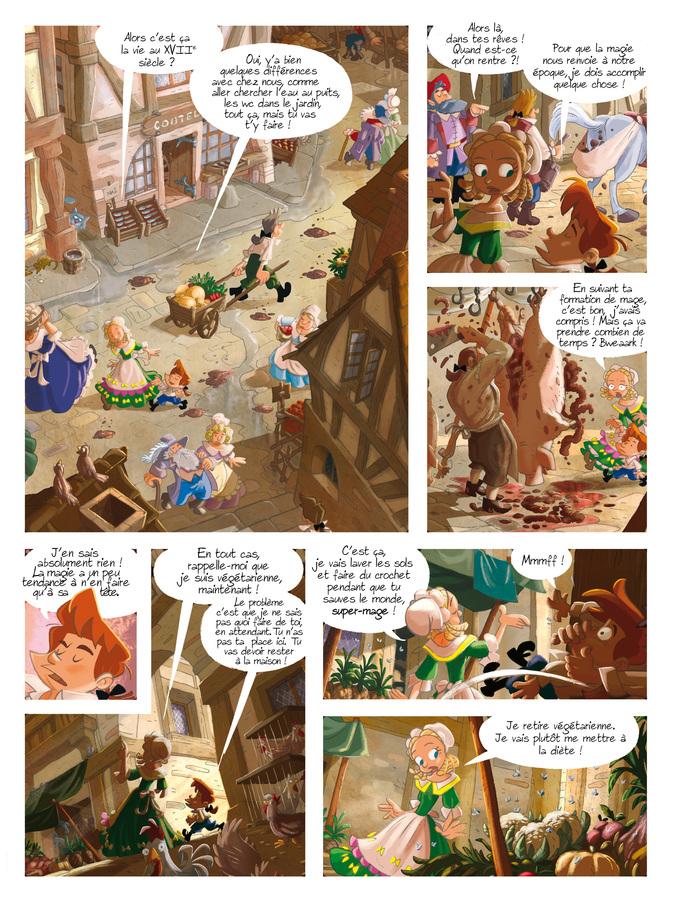 Extrait 1 : Gargouilles T6 : Le Livre des Mages