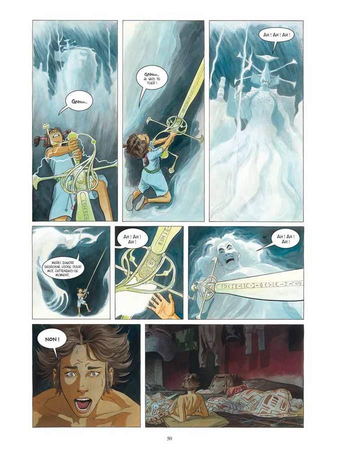 Extrait 2 : Les Epées de verre T1 : Yama