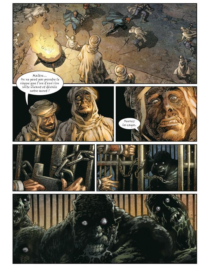 Extrait 2 : Crusades T1 : Le spectre aux yeux d'argent