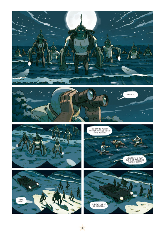 Extrait 3 : Luchadores five T3 : Les Créatures du lac de cuir noir