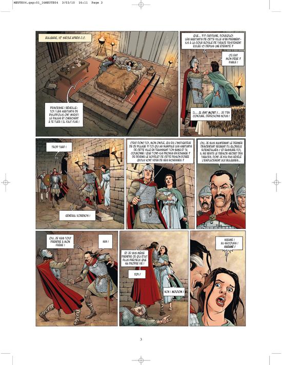 Extrait 0 : La Meute de l'enfer T4 : La Tanière du mal