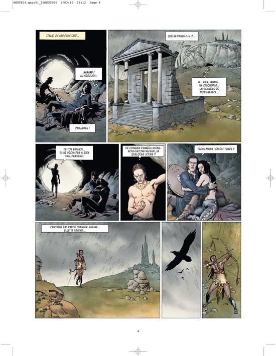 Extrait 1 : La Meute de l'enfer T4 : La Tanière du mal
