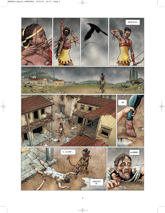 Extrait 2 : La Meute de l'enfer T4 : La Tanière du mal