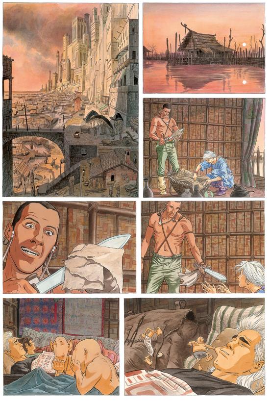 Extrait 1 : Les Epées de verre T2 : Ilango