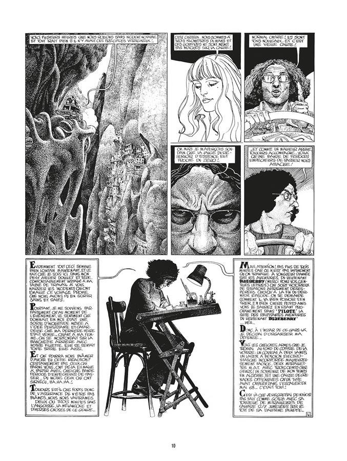 Extrait 3 : Mœbius Œuvres : Arzach Classique