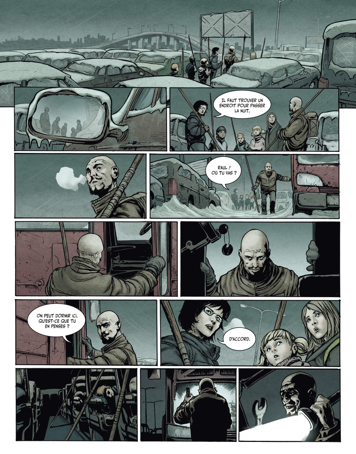 Extrait 4 : La Terre des vampires T1 : Exode