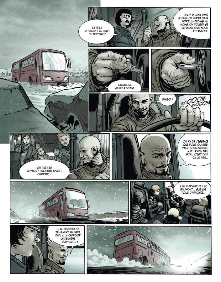 Extrait 5 : La Terre des vampires T1 : Exode