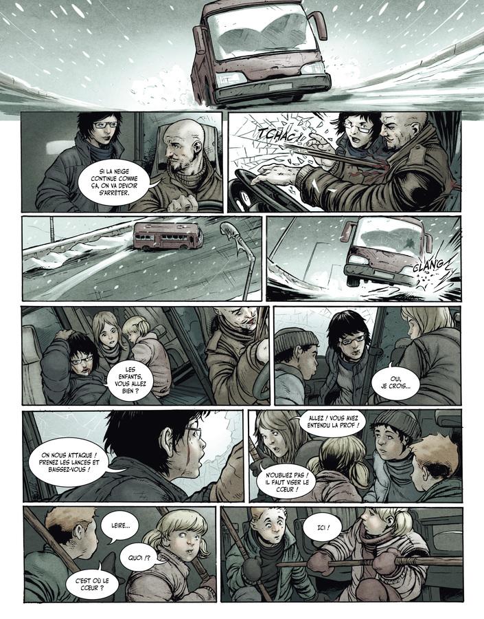 Extrait 6 : La Terre des vampires T1 : Exode