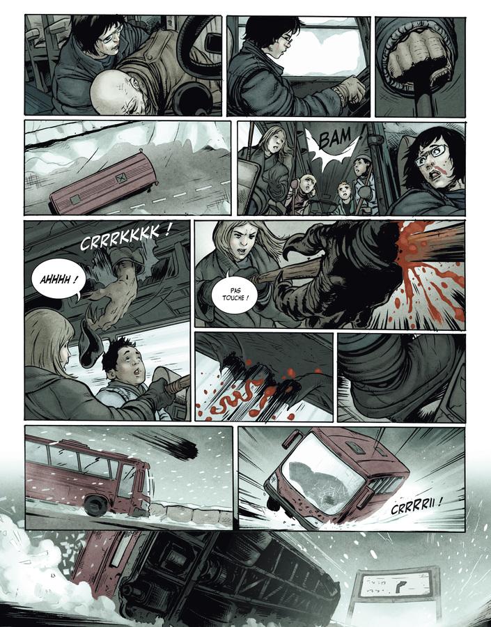 Extrait 7 : La Terre des vampires T1 : Exode