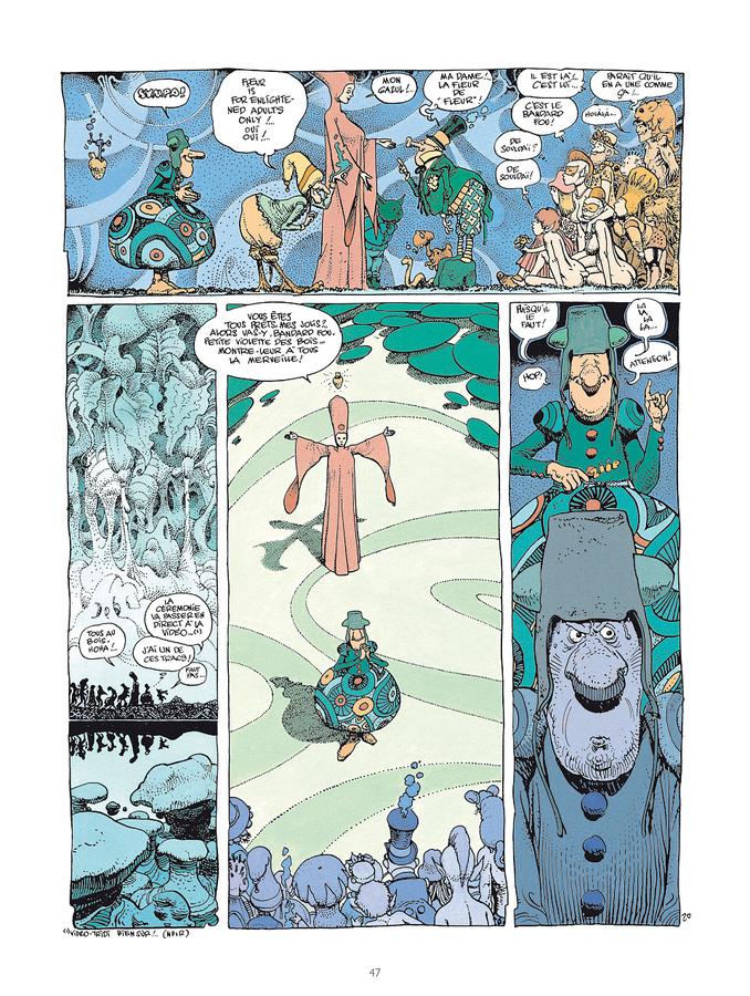 Extrait 0 : Mœbius Œuvres : Le Bandard Fou Classique