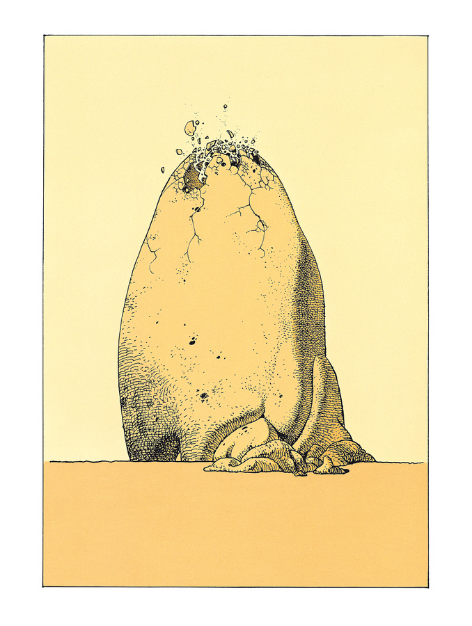 Extrait 1 : Mœbius Œuvres : Le Bandard Fou Classique