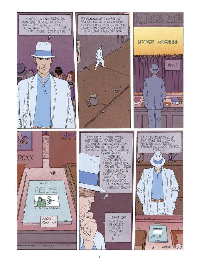 Extrait 2 : Mœbius Œuvres : L'Homme du Ciguri Classique