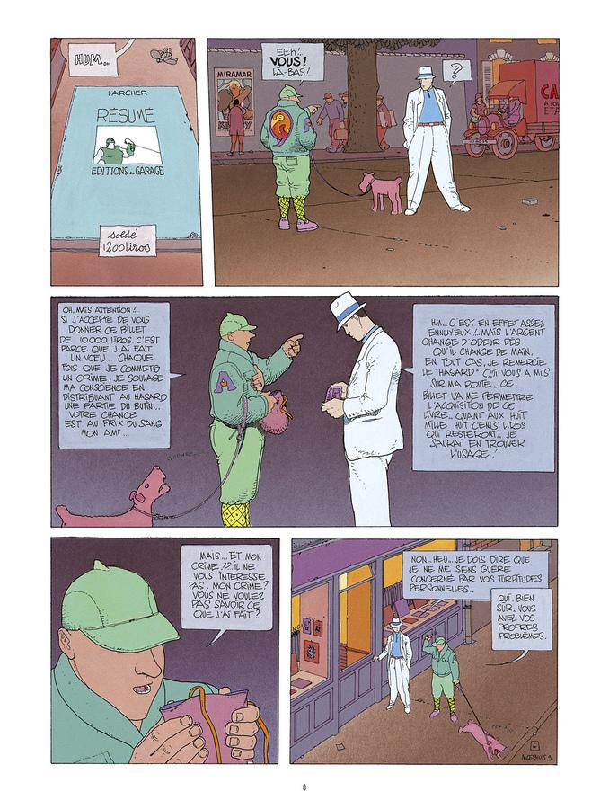 Extrait 3 : Mœbius Œuvres : L'Homme du Ciguri Classique