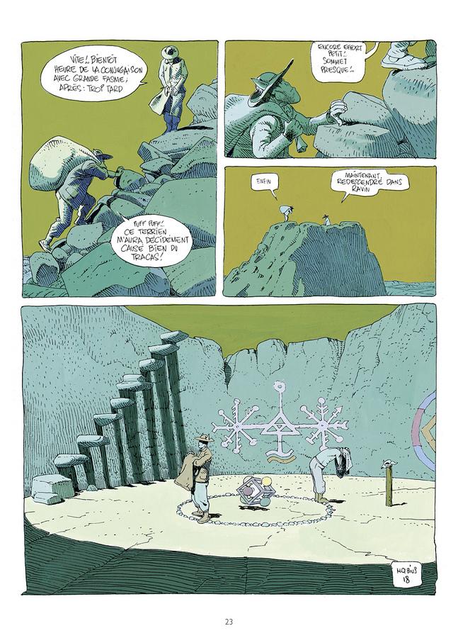 Extrait 1 : Mœbius Œuvres : Escale sur Pharagonescia USA
