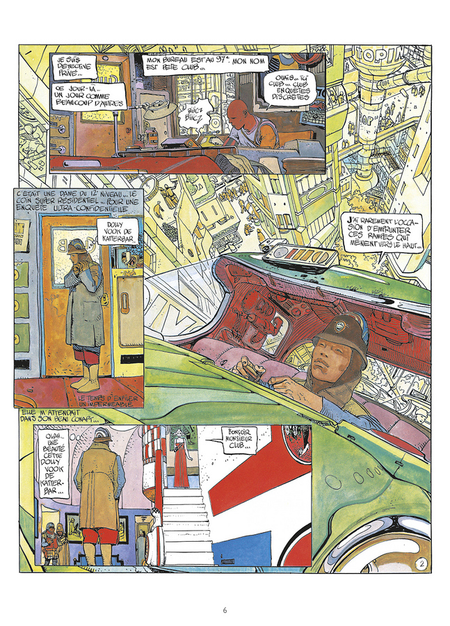 Extrait 0 : Mœbius Œuvres : The Long Tomorrow USA
