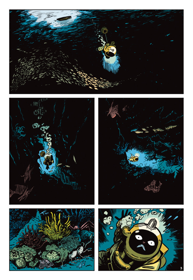 Extrait 2 : L'Extravagante Croisière de Lady Rozenbilt édition couleur