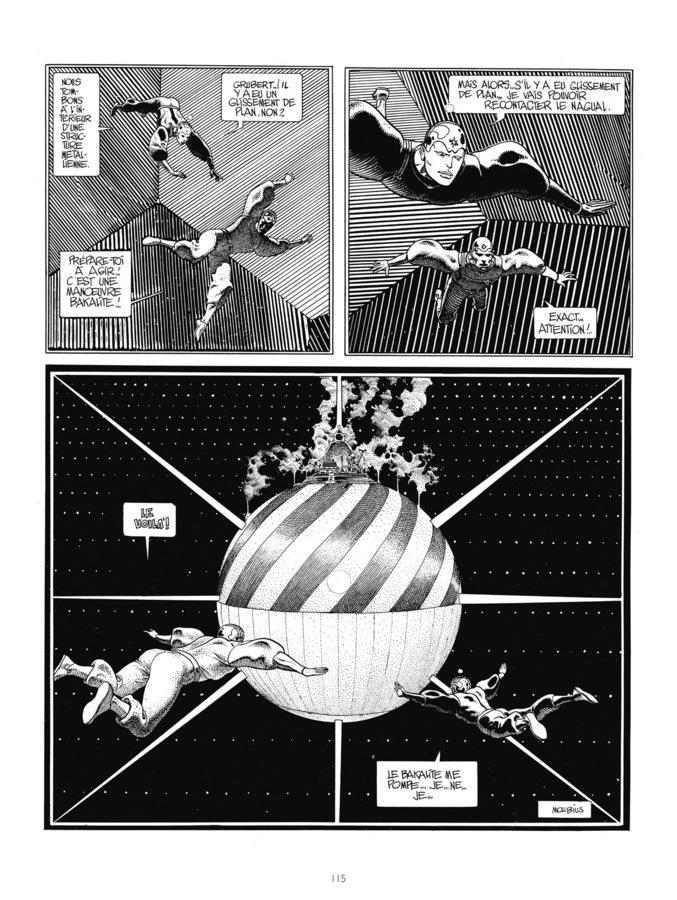 Extrait 3 : Mœbius Œuvres - 30*40 : Le Garage hermétique