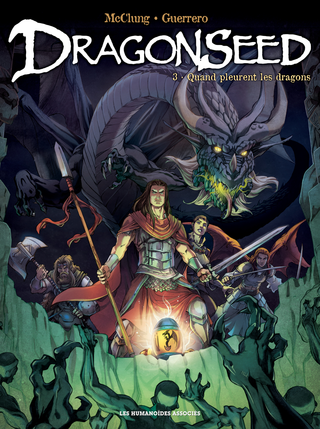 Dragonseed T3 : Quand pleurent les dragons