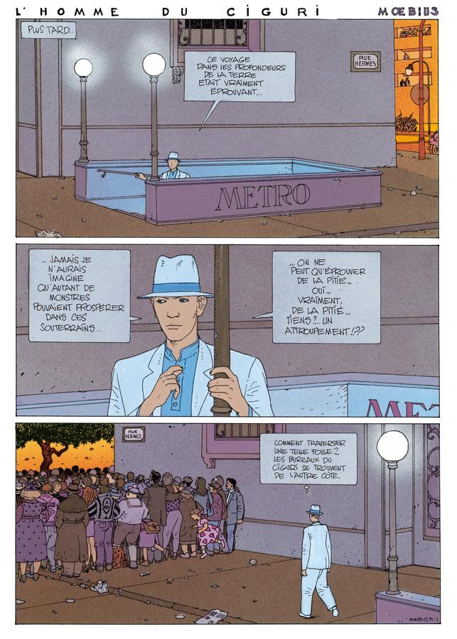 Extrait 0 : Mœbius Œuvres : L'Homme du Ciguri USA