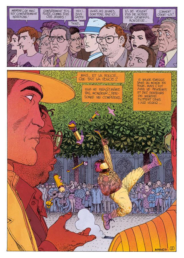 Extrait 1 : Mœbius Œuvres : L'Homme du Ciguri USA