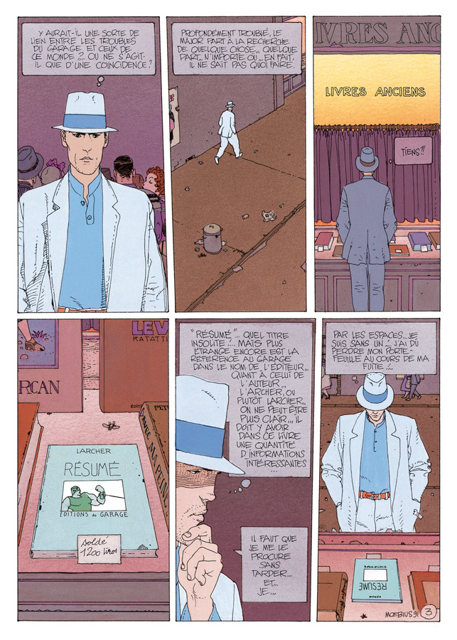 Extrait 2 : Mœbius Œuvres : L'Homme du Ciguri USA