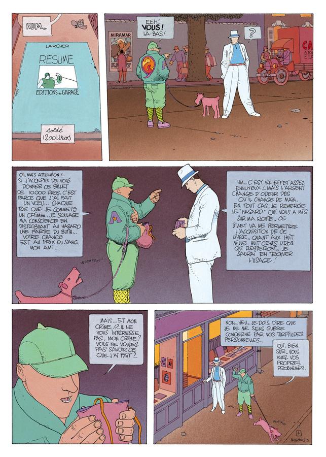 Extrait 3 : Mœbius Œuvres : L'Homme du Ciguri USA