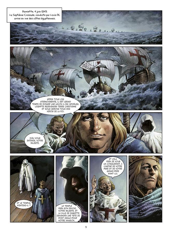 Extrait 1 : Crusades - Numérique T3 : La Bataille de Mansourah