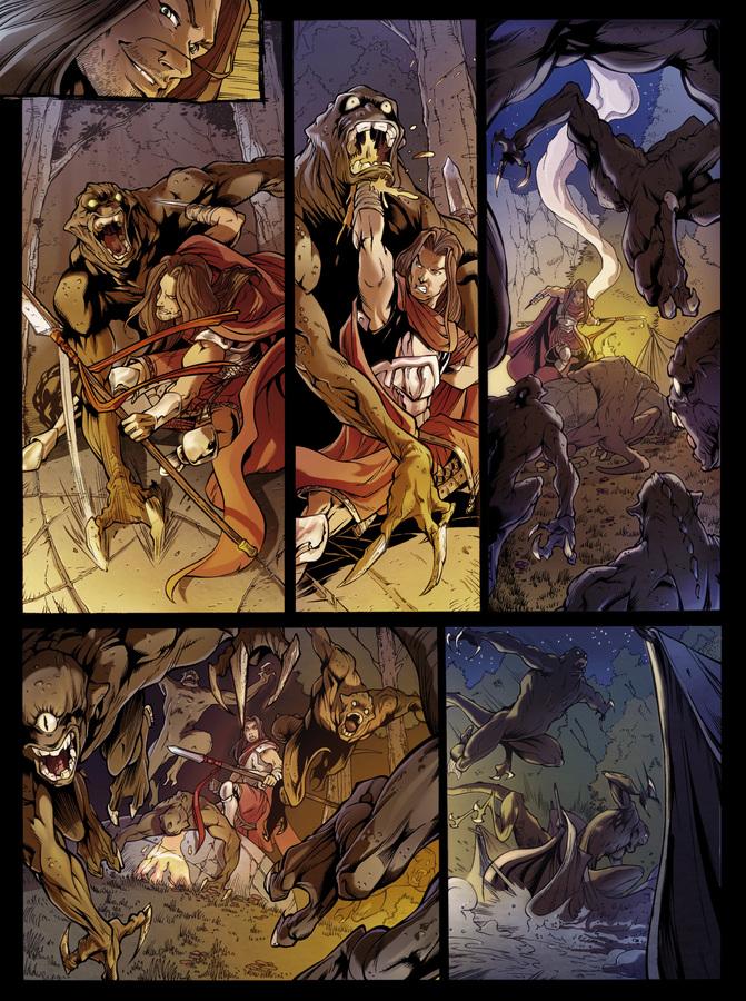 Extrait 1 : Dragonseed - Numérique T2 : L'Étreinte du Griffon