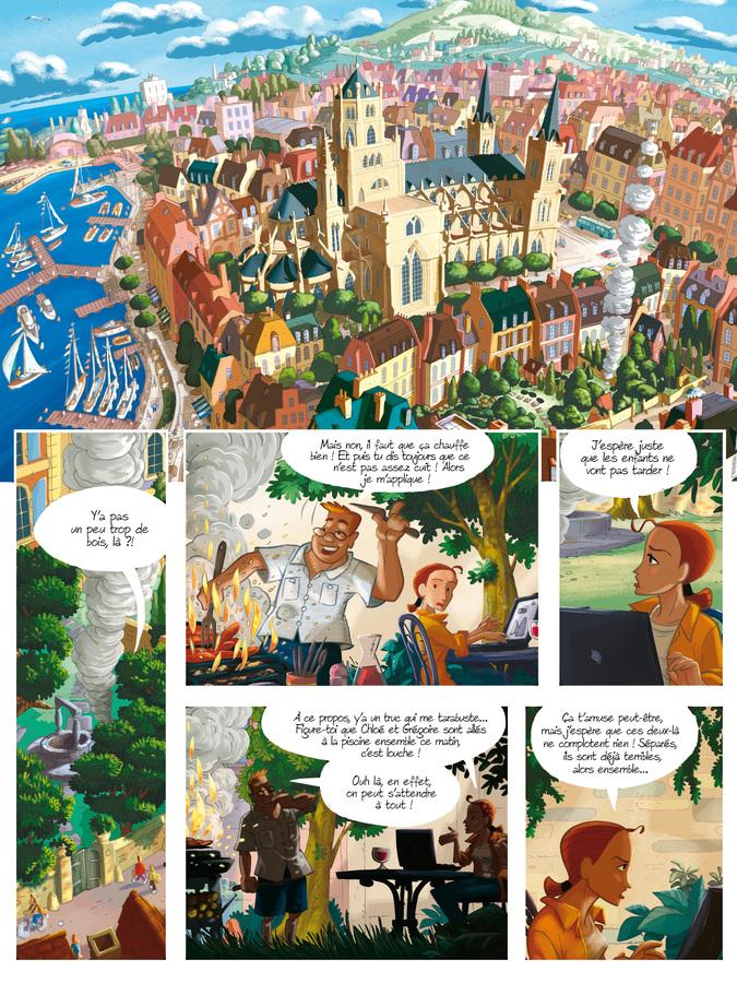 Extrait 0 : Gargouilles - Numérique T6 : Le Livre des Mages