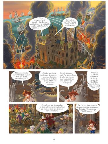 Extrait 1 : Gargouilles - Numérique T7 : La Dernière Porte