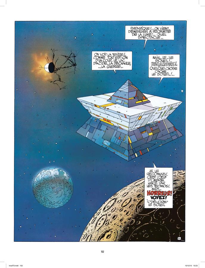 Extrait 1 : L'Incal - Numérique T3 : Ce qui est en bas